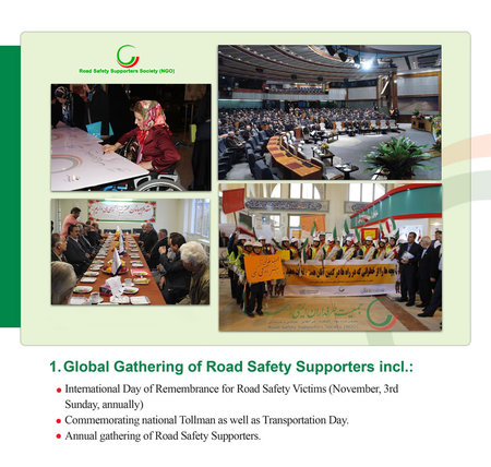 Global Gathering Of Road Safety Supporters