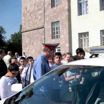 Road Police Officers Answer To Kids' Questions