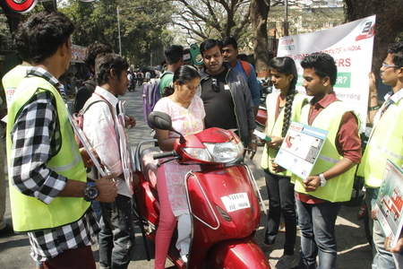 Bikers' Sensitization By Trained Youth